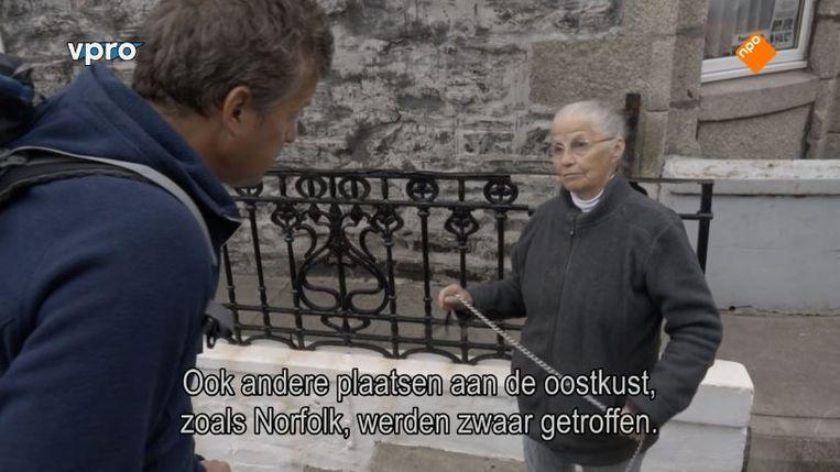 De ondertiteling bij Rond de Noordzee. Beeld Screenshot NPO
