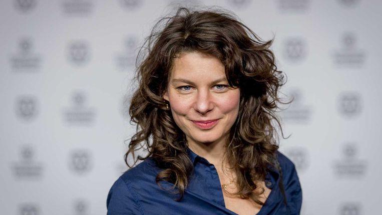 Actrice Rifka Lodeizen (43) tijdens de opening van het IFFR. Beeld anp