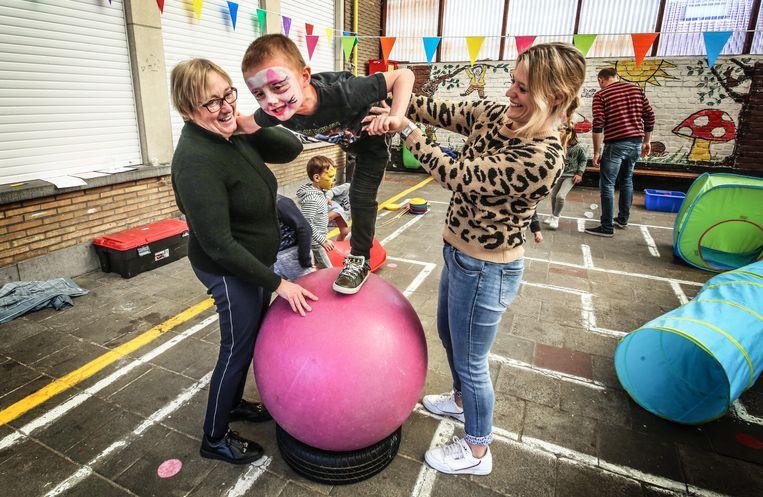 In de Kappaertschool in Zwevegem stond de jaarlijkse projectweek deze week in het teken van 'Circus'. .
