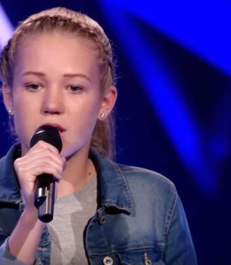 Rosalyn (14) uit Zutphen door in The Voice Kids