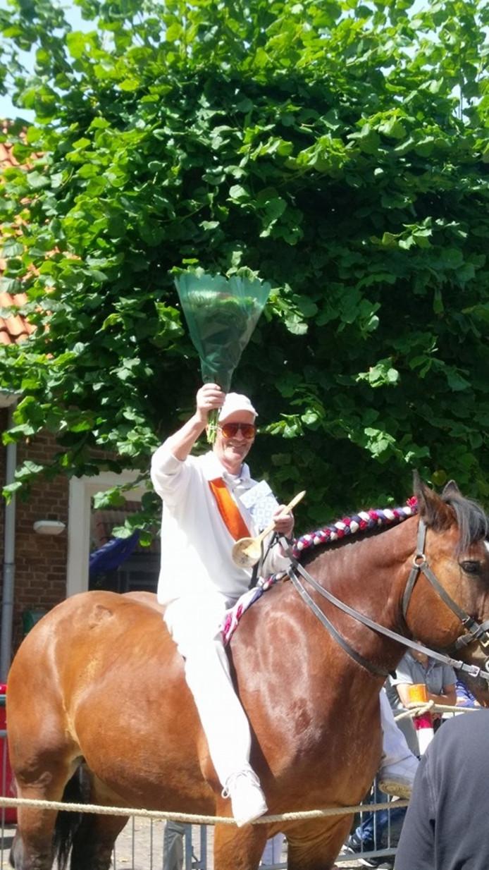 """""""Good old"""" Leo de Visser reed voor de 50ste keer achter elkaar mee, met de augustus wedstrijd, in Ritthem"""