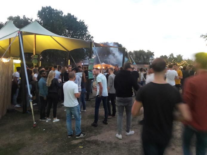 Dancefestival Losjes bij het Engelermeer.
