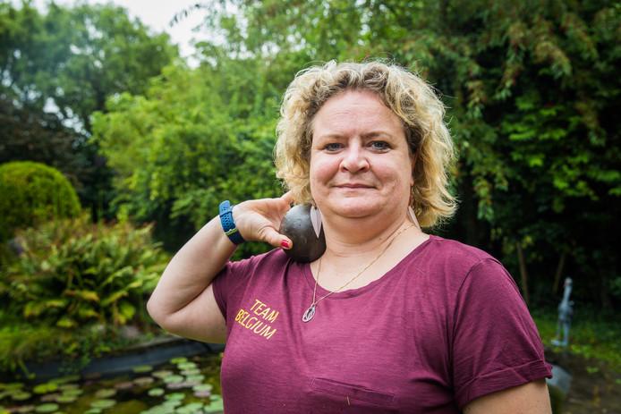 Ann-Sophie Claeys neemt onder meer deel aan het kogelstoten