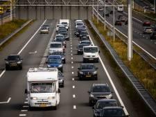 File op A73 richting Nijmegen: vertraging neemt af