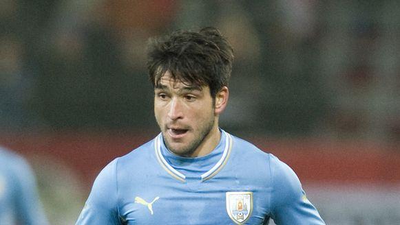 Nicolas Lodeiro op archiefbeeld in het shirt van Uruguay.