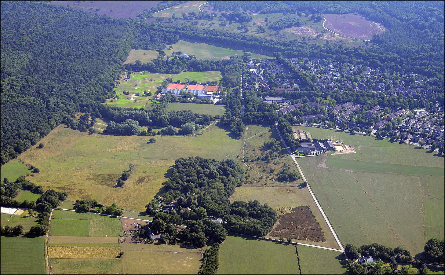 Het Lierdal op de grens van de gemeenten Heumen en Mook en Middelaar. Archieffoto