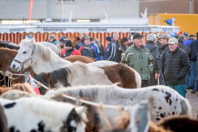 De Paardenmarkt  in Goor.