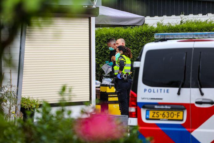 Grote politieactie op camping in Loenen