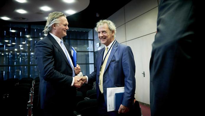 Pier Eringa (links) en Roger van Boxtel.