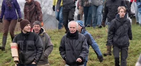 Tachtig vrijwilligers zitten achter ossen aan bij Wolfheze