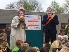 Basisschool Het Talent uit Middelburg rent 3650 euro bij elkaar voor giro 555