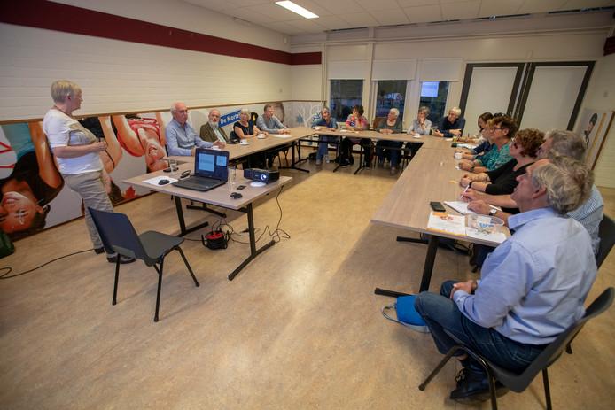 Een eerdere bijeenkomst over eenzaamheid in Eindhoven.