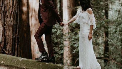 Een sprookjeshuwelijk? Dat ziet er zo uit: trouwfoto's van Gentse Ferdaws (29) gaan wereld rond