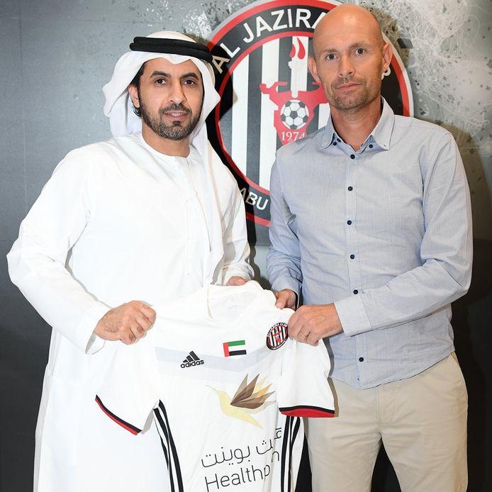 Marcel Keizer is na een jaar bij Sporting Lissabon weer terug als coach van Al Jazira.