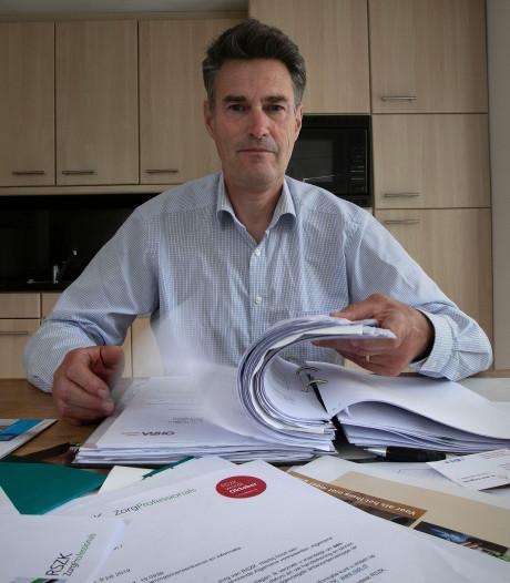 Marcel Vos uit Eindhoven zoekt naar plek in verpleeghuis voor ouders