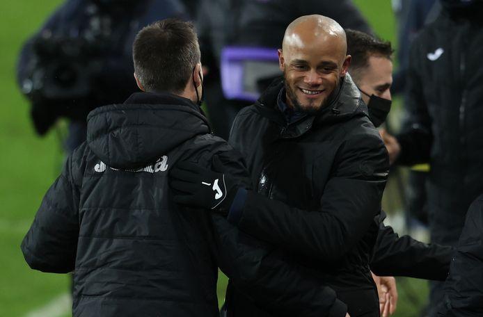 Kompany blij met de vierde plaats voor Anderlecht.