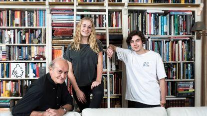 """Thuis bij Jacques Vermeire en zijn kinderen Maxime en Julie: """"Jullie lieven komen hier nóóit wonen"""""""
