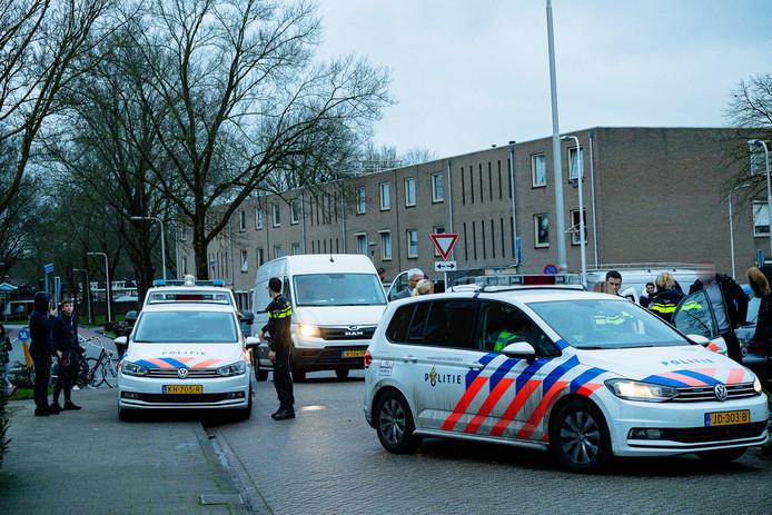 Het incident was in de Matterhornstraat