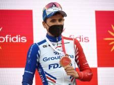 Gaudu na Vuelta-etappezege: 'Ik voelde mij vandaag niet super'