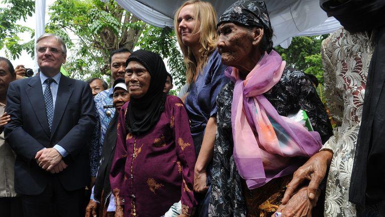 Advocate Liesbeth Zegveld op Indonesië (2011) Beeld anp