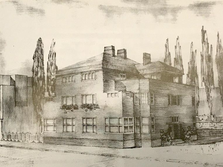 Het buurpand van de Jan van Goyenkliniek, Jan van Goyenkade 3-4 Beeld NAi/WARS-archief