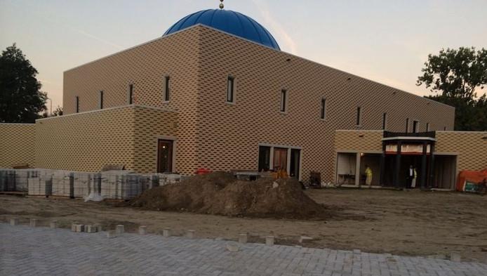 De moskee in Wielwijk.