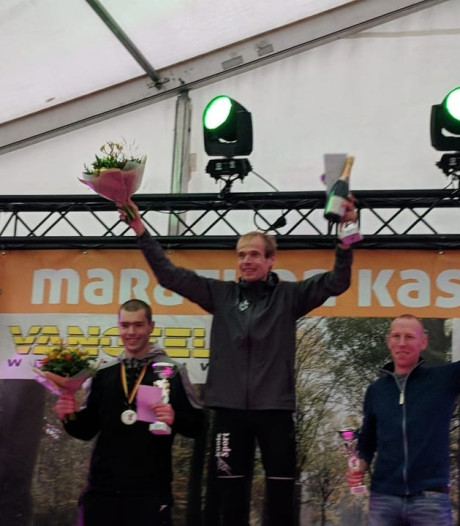 Erwin Harmes wint weer een marathon, nu in Kasterlee