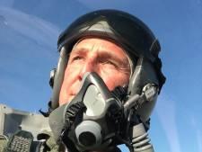 Over en sluiten voor Curly en zijn Fighting Falcon: 'Een  mooier gevoel dan in een F-16 bestaat niet'