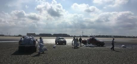 Lijkzakken en politie op het strand: geen nood, 't zijn opnames