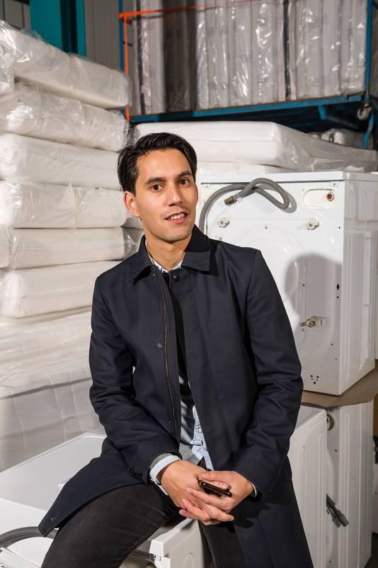 Oprichter Ruben Oraile van Moving-In.