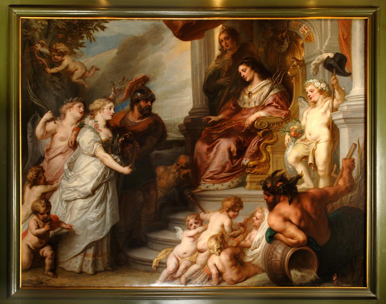 'Het verzoek van de Brabantse steden om toetreding tot de Staten Generaal', Theodoor van Thulden (1606-1669)