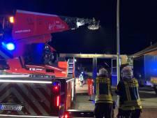 Brand in Lünten: omwonenden schrikken wakker van barstende ruiten