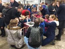 Topdrukte op open dagen kaarsenfabriek Breda