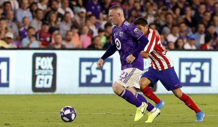 Wayne Rooney in actie voor de MLS All-Stars afgelopen week.