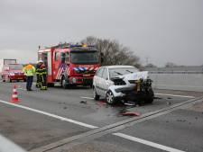 Ongeluk met truck op A58: file tussen Bergen op Zoom en Roosendaal