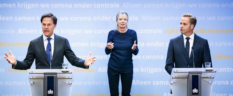Voor een liberaal als Rutte is de vrijheid van het individu een belangrijk uitgangspunt, en juist die moet hij telkens inperken. Beeld ANP