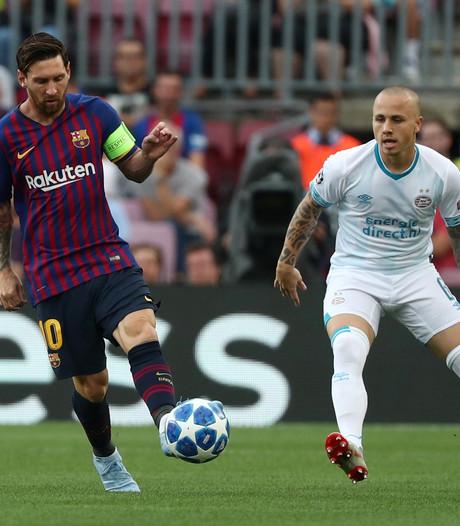 LIVE   PSV breekt na heerlijke vrije trap van Messi