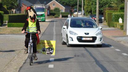 Verkeerswolf vraagt één meter afstand voor fietsers