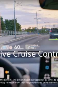 Voorruit wordt één groot projectiescherm in nieuwe Volkswagen