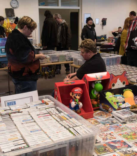 Tweehonderd tafels vol games op Zwolse beurs