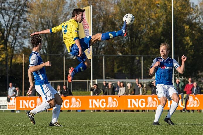 Hoogstandje van Dongen-speler Jaap van der Waarden.