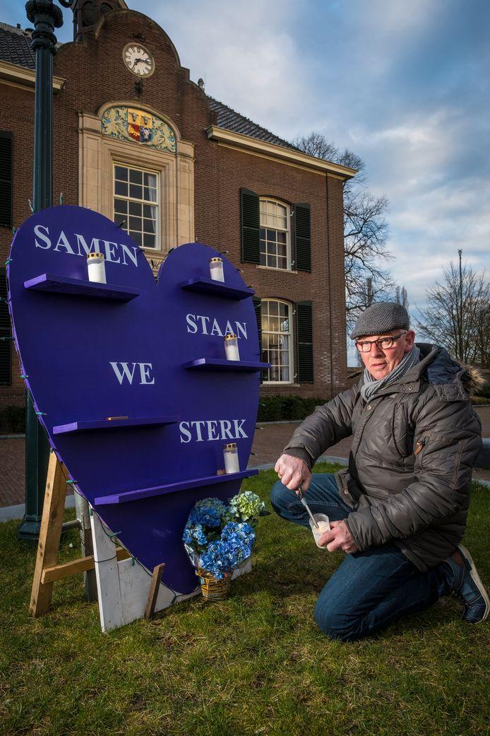 Tiemen Bijsterbosch bij zijn hart voor Heerde.