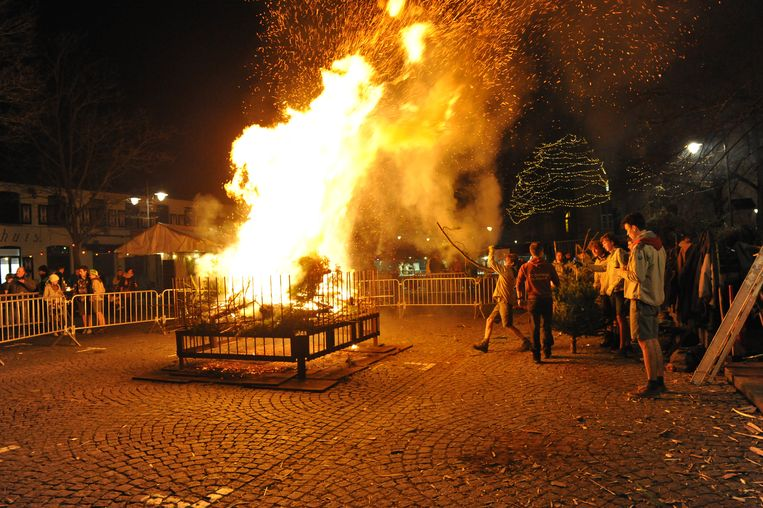 Scouting Bornem gaat voortaan geen kerstboomverbranding meer organiseren.