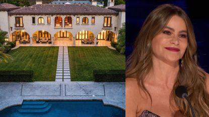 BINNENKIJKEN. In deze statige villa bekomt Sofia Vergara van al haar familieleed