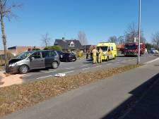 Meerdere gewonden bij aanrijding in Albergen