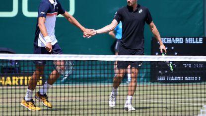 Murray wint bij rentree - Goffin ligt uit dubbelspel Halle - Del Potro mag Wimbledon vergeten