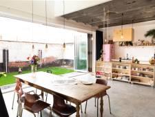 Jean-Pierre et Karolien vivent dans un atelier de garage transformé de 1920