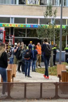 Christelijk College Zeist ontruimd vanwege brand: eerste verdieping hele week dicht