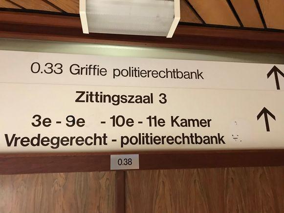 De man kwam voor in de politierechtbank van Veurne.