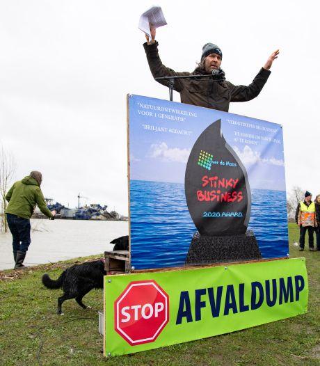 Tweede Kamer stemt woensdag over stoppen granulietstort in Over de Maas